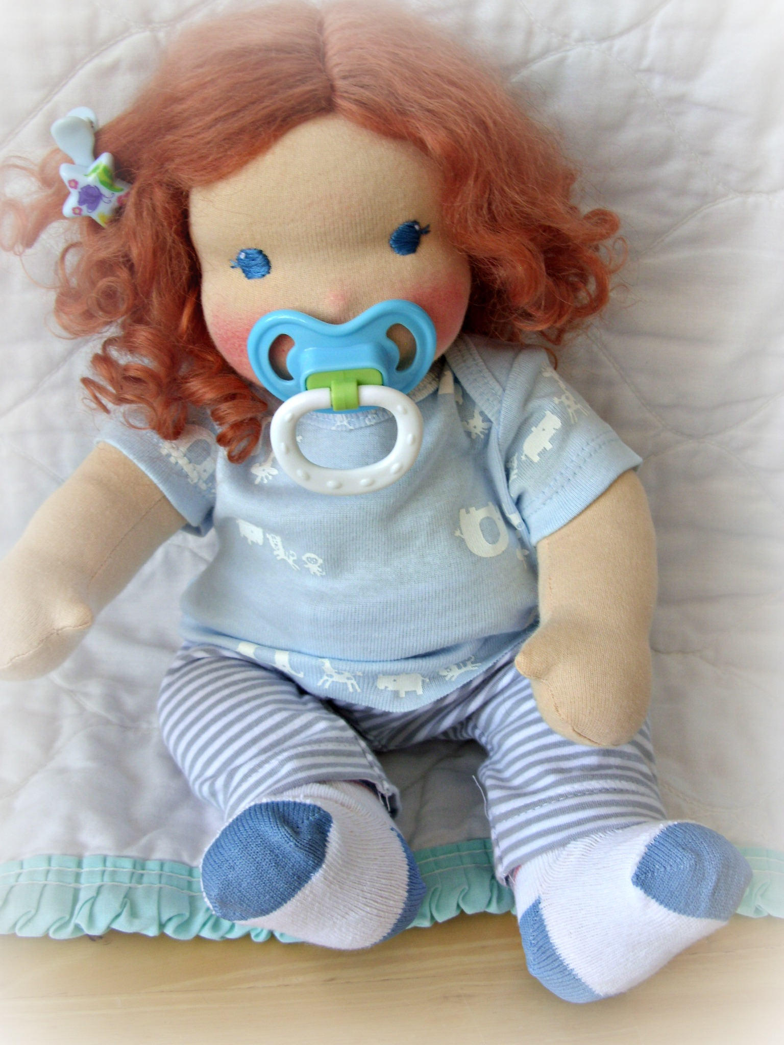 Lali Doll magnetic pacifier instructions.