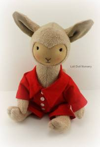 """17"""" Llama doll"""